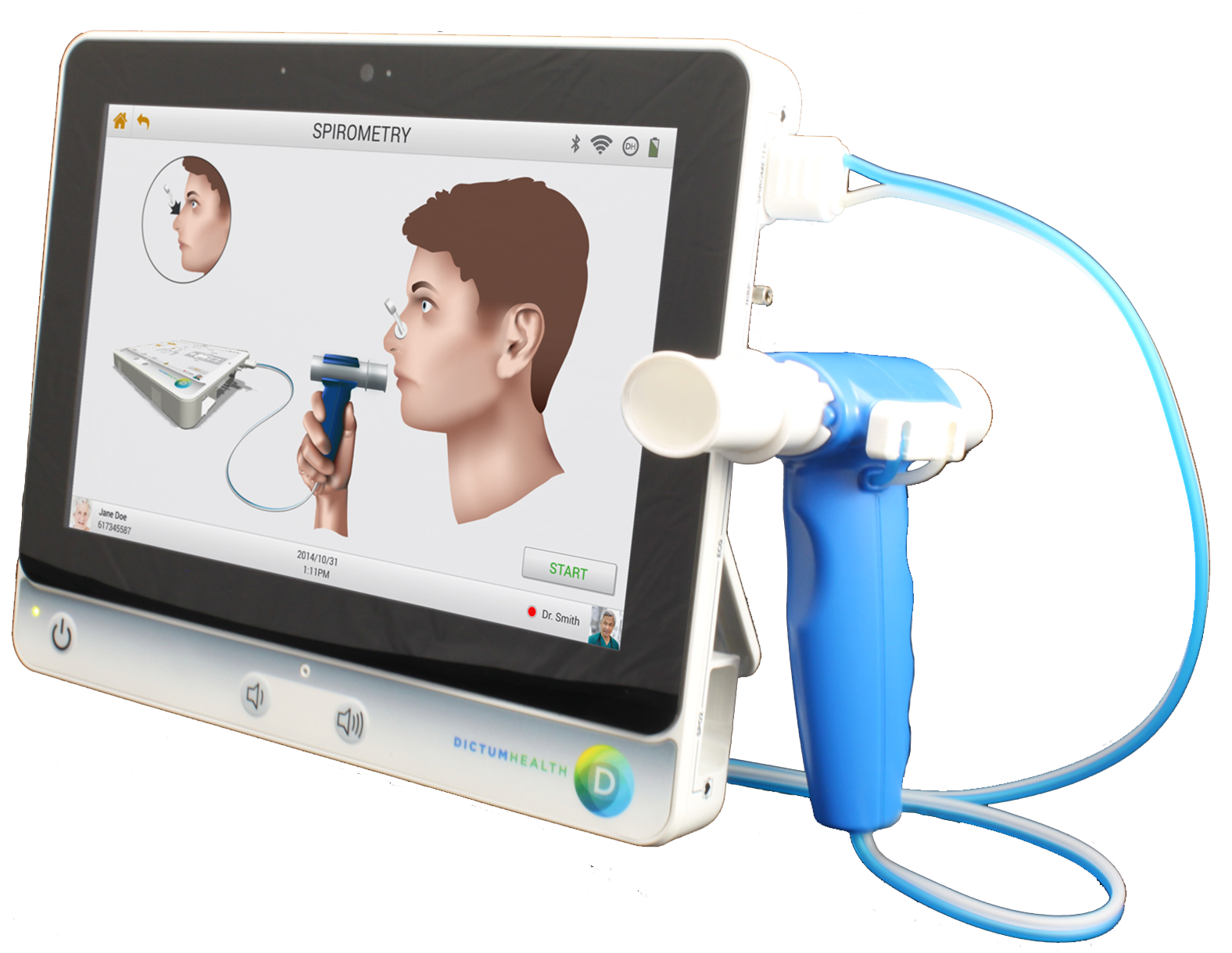 Dictum Health Receives FDA 510K Clearance for Portable Spirometry